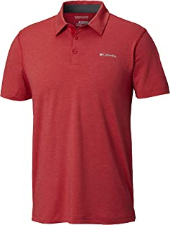 Columbia Men's Tech Trail Polo, (Mountain 613), 2X-Large
