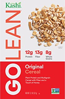 Kashi GO Original Breakfast Cereal - Non-GMO Project Verified, Vegetarian, 13.1 Oz Box