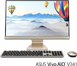 "ASUS Vivo AIO All-in-One Desktop PC, 23.8"" Full HD Touch Display, Intel Core i5 Processor, 8GB DDR4 RAM, 128GB SSD + 1TB HDD, Windows 10, V241FA-DS501T"