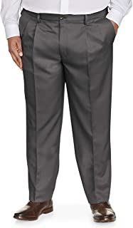 Men's Big & Tall Classic-fit Wrinkle-Resistant Pleated Dress Pant fit by DXL