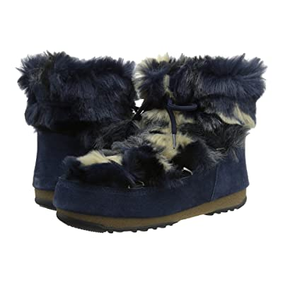 Tecnica Moon Boot(r) Low Fur (Blue) Women