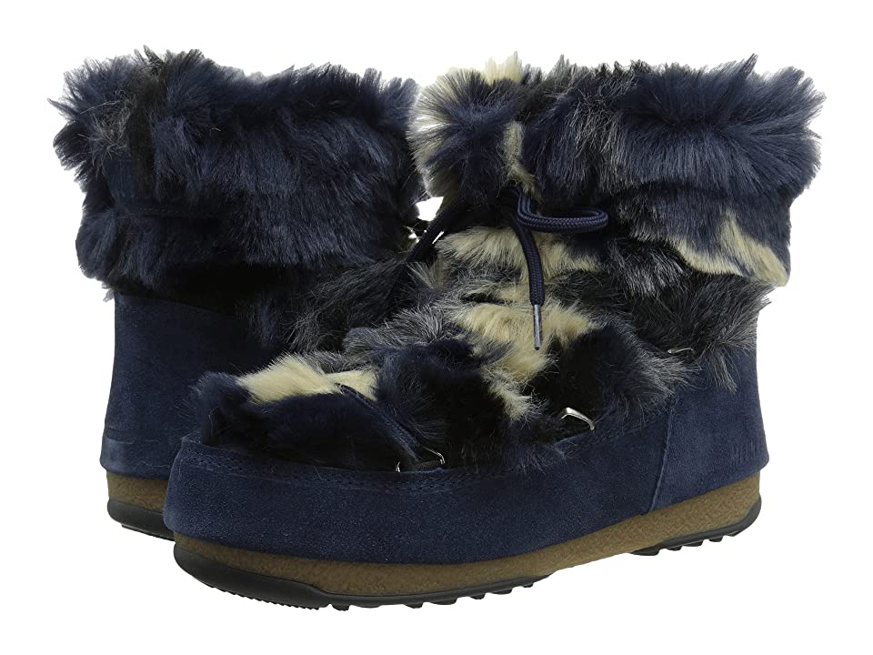 Tecnica Moon Boot(r) Low Fur (Blue) Women