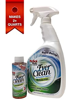 ProSol Works All Purpose Cleaner 4oz. Concentrate - Makes 2+ Quarts - Includes 1 Free 32oz. Empty Spray Bottle. Multi Surface Cleaner for Kitchen, Bathroom, Living Room and Entire House.