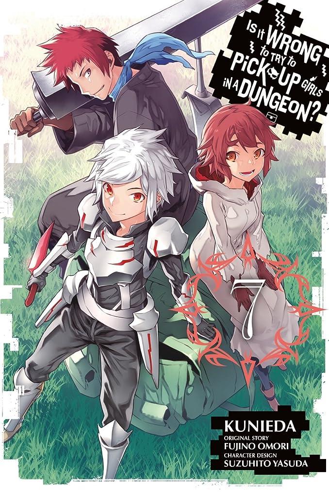 泣き叫ぶ馬鹿げた迷彩Is It Wrong to Try to Pick Up Girls in a Dungeon? Vol. 7 (English Edition)