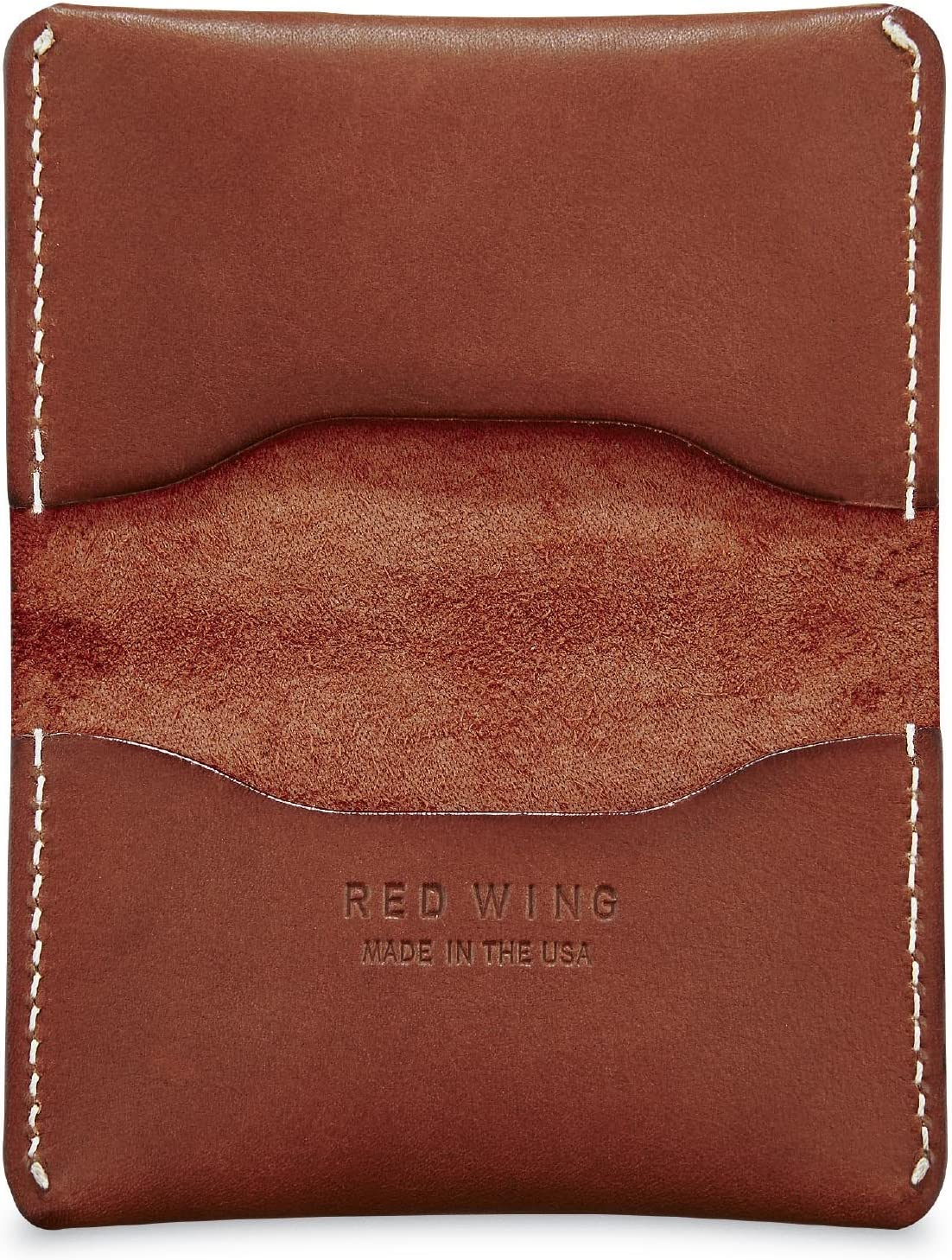 Black Oro and Tan Black Red Wing Card Holder Wallet