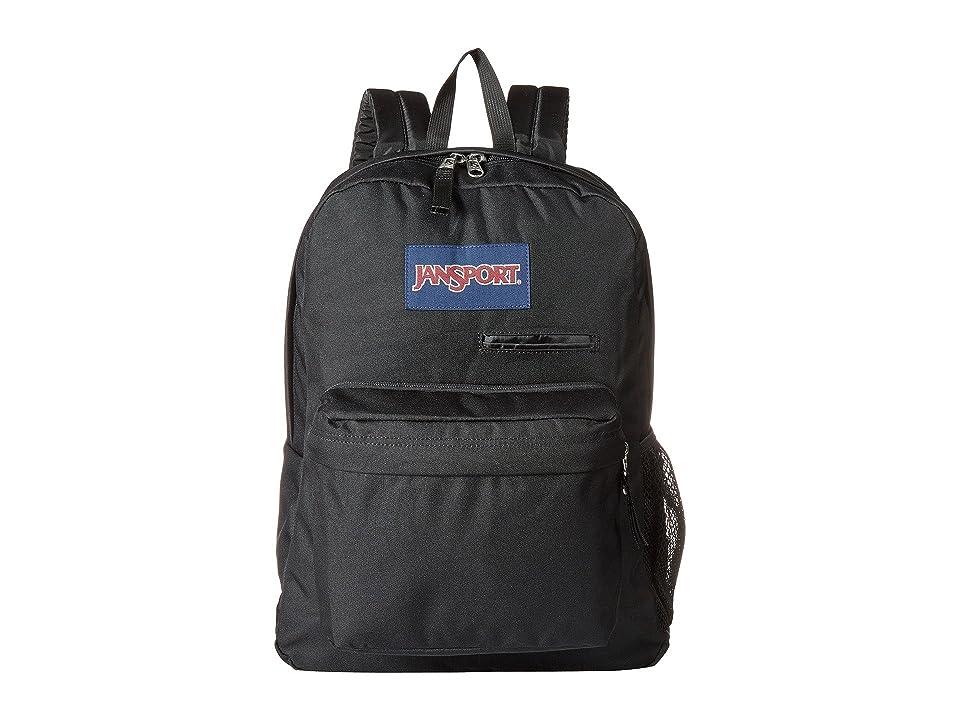 JanSport Digibreak (Black/Black) Backpack Bags