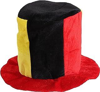 Brubaker fan hoed pluche cilinder EM WK voetbalhoed Duitsland Rusland Portugal Zweden Servië Spanje Colombië