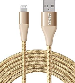 Anker Powerline+ II iPhone-kabel, 3 m, Lightning-kabel, nylon, MFi-gecertificeerd met de iPhone XS/XS Max/XR/X, 8/8 Plus, ...