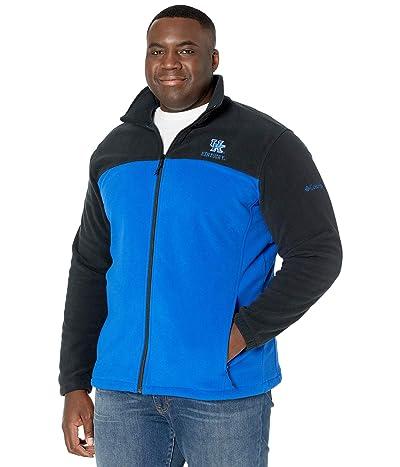 Columbia College Big Tall Kentucky Wildcats CLG Flankertm III Fleece Jacket (Black/Azul) Men
