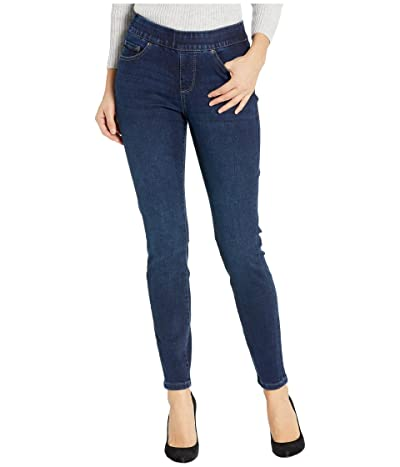 Jag Jeans Maya Skinny Pull-On Jeans in Deluxe Denim (Pacific Blue) Women