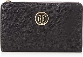 محفظة هوني ميد هالف زا للنساء من تومي هيلفجر، بلون اسود - AW0AW08023