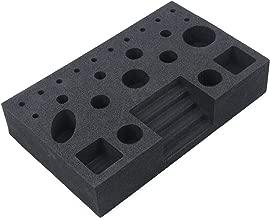 M MAXIMUMCATCH Maxcatch Soft Foam/Bamboo Wood Tool Caddy Fly Tying Tool Station
