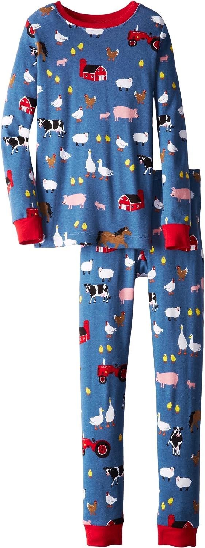 Hatley Big Ranking TOP14 Colorado Springs Mall Boys' Pajama Farmer Jack - Set