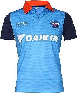 IPL Cricket DC 2019 Jersey Supporter T Shirt Pant 17 Custom Print Name No Delhi Capitals Uniform