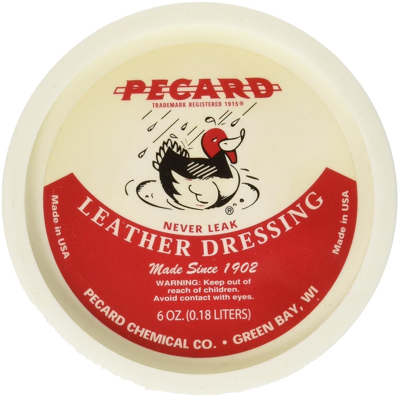 合法ビルマデコラティブペカードオイル レザードレッシング Pecard Oil Leather Dressing 6オンス(並行輸入品)