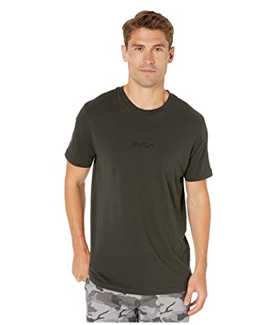 RVCA Small RVCA Short Sleeve T-Shirt (Pirate Black) Men