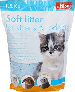 Les Filous Silica Kitten and Rodents Litter 1.5kg