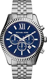 Michael Kors Silver Lexington Watch