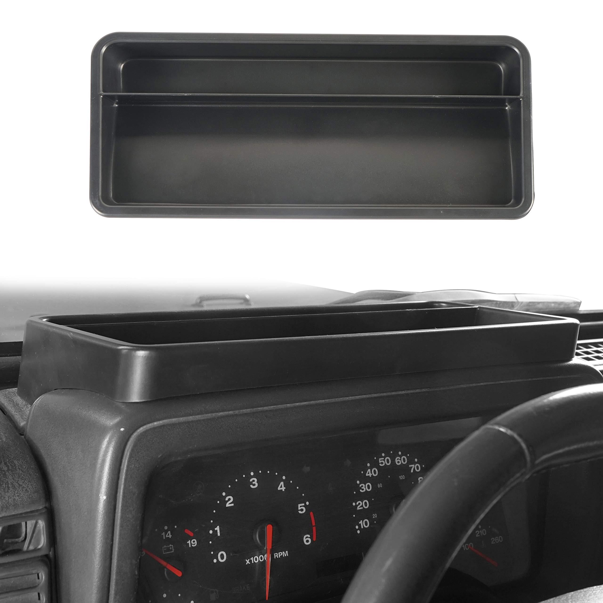 Daystar KJ71031 Black Interior Upper Dash Panel for 97-06 Jeep Wrangler TJ//LJ