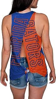 NCAA Womens Tie Breaker Sleeveless Fashion Top Shirt