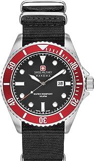 Swiss Military Hanowa - Reloj Analógico para Hombre de Cuarzo con Correa en Nailon 06-8279.04.007.04SET