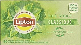 Lipton Thé Vert Classique Label Rainforest Alliance 50 Sachets