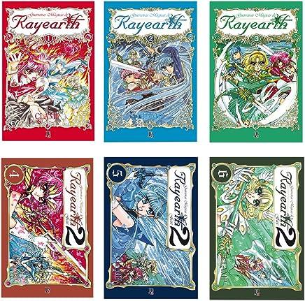 Coleção Guerreiras Magicas - Caixa com Volumes 1 a 6