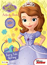 Bendon Disney Sofia The First 32-Page Fairy Tale Spring Coloring and Activity Book with Stickers