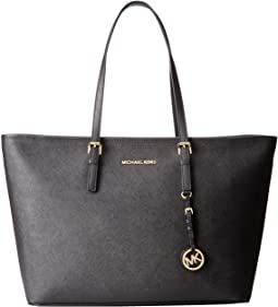 MICHAEL Michael Kors Jet Set Travel Medium Top-Zip Multifunction Tote