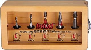 Freud 90-100 Juego de 15 brocas fresadoras de vástago de 1/