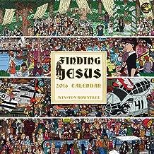2016 Finding Jesus Wall Calendar