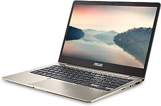 ASUS ZenBook 13 Ultra-Slim Laptop 13.3in FHD Display, Intel 8th gen Core i5-8250U, 8GB RAM, 256GB M.2 SSD, Win10, Backlit KB, FP, Icicle Gold, UX331UA-AS51 (Renewed)