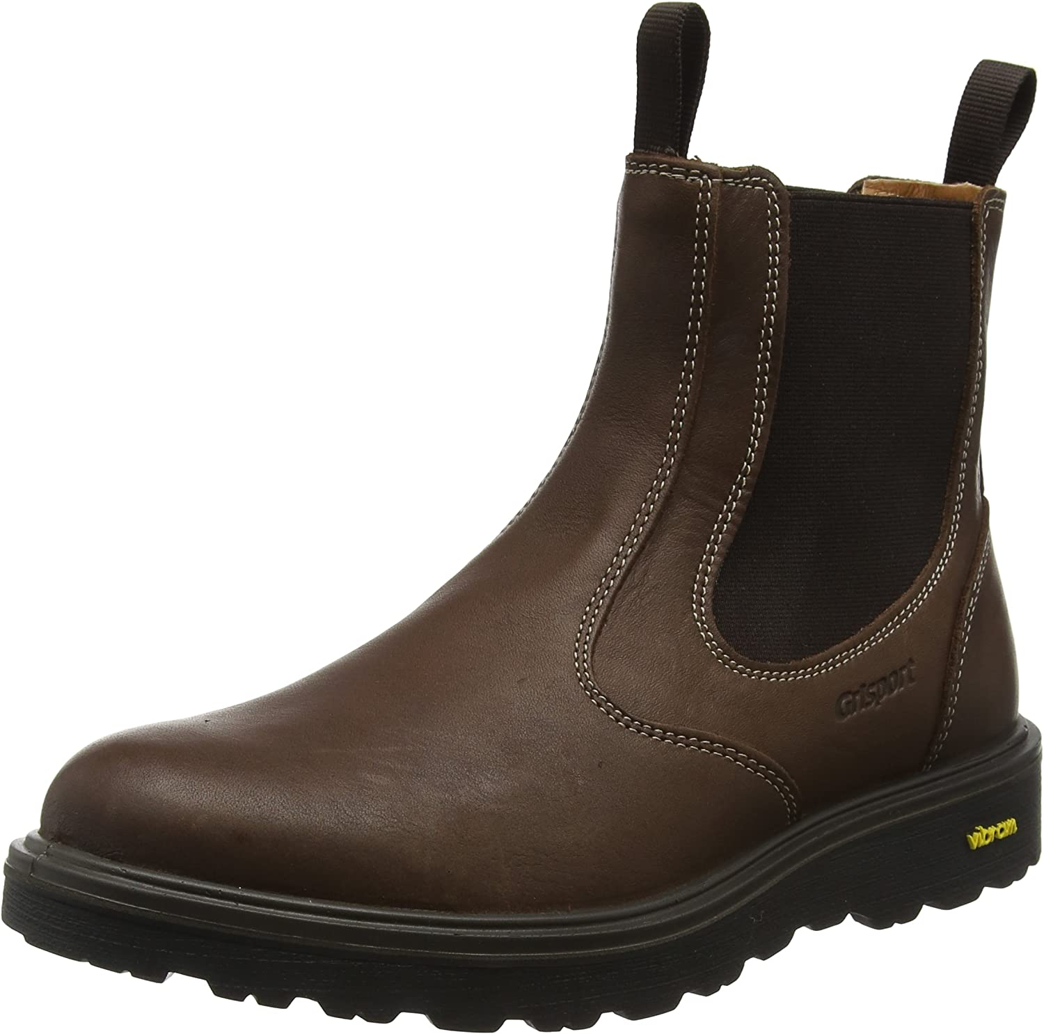greyport Men's Crieff High Rise Chelsea Boots
