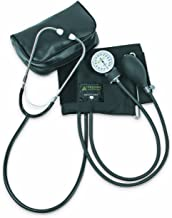 Veridian 01-5501 Self-Taking Home Blood Pressure Kit with Attached Stethoscope, Latex Free, Adult