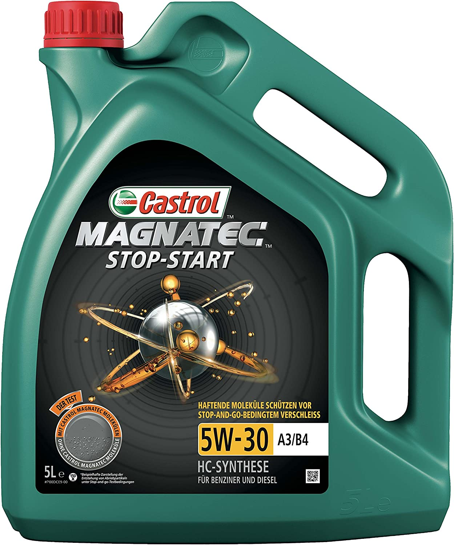 Castrol 159bbc Magnatec A3 B4 5w 30 A3 B4 Stop Start Motorenöl 5l Auto