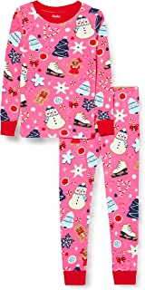 Hatley Organic Cotton Long Sleeve Printed Pyjama Sets Ensemble de Pijama Fille