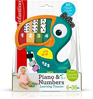 Infantino Piano & Numbers Learning Toucan^B09211FD21
