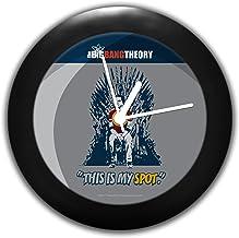 Mc Sid Razz Big Bang Theory TV Series - This My Spot | Table Clocks |Desk Clock | Table Clock for Home Decor |Table Clock ...