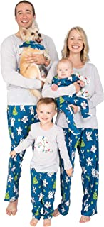 Unisex Family Matching Winter Holiday Pajama Collection, Polar Bears