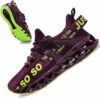 JSLEAP Laufschuhe Turnschuhe Sportschuhe Sneaker So So Running Tennis Schuhe Just Freizeit Straßenlaufschuhe Fashion Leich...