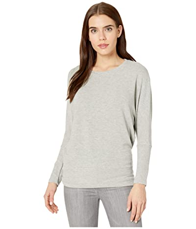 Cupcakes and Cashmere Ivery Ultra Soft Dolman Sweater (Light Heather Grey) Women