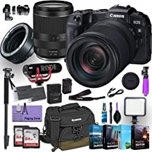$1999 » Canon EOS RP Mirrorless Digital Camera with RF 24-240mm Lens Plus Canon Mount Adapter EF-EOS R Bundled w/ (Rode Microphone, 4 Pack Photo Editing Software & More)