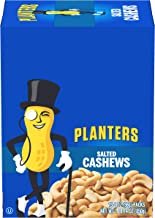 Planters Salted Cashews (2 oz Packets, Pack of 15)