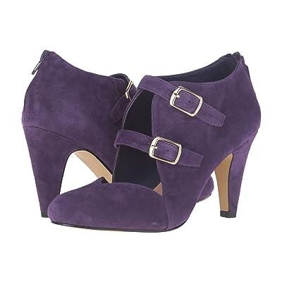 Bella-Vita Niko (Eggplant Kid Suede Leather) High Heels