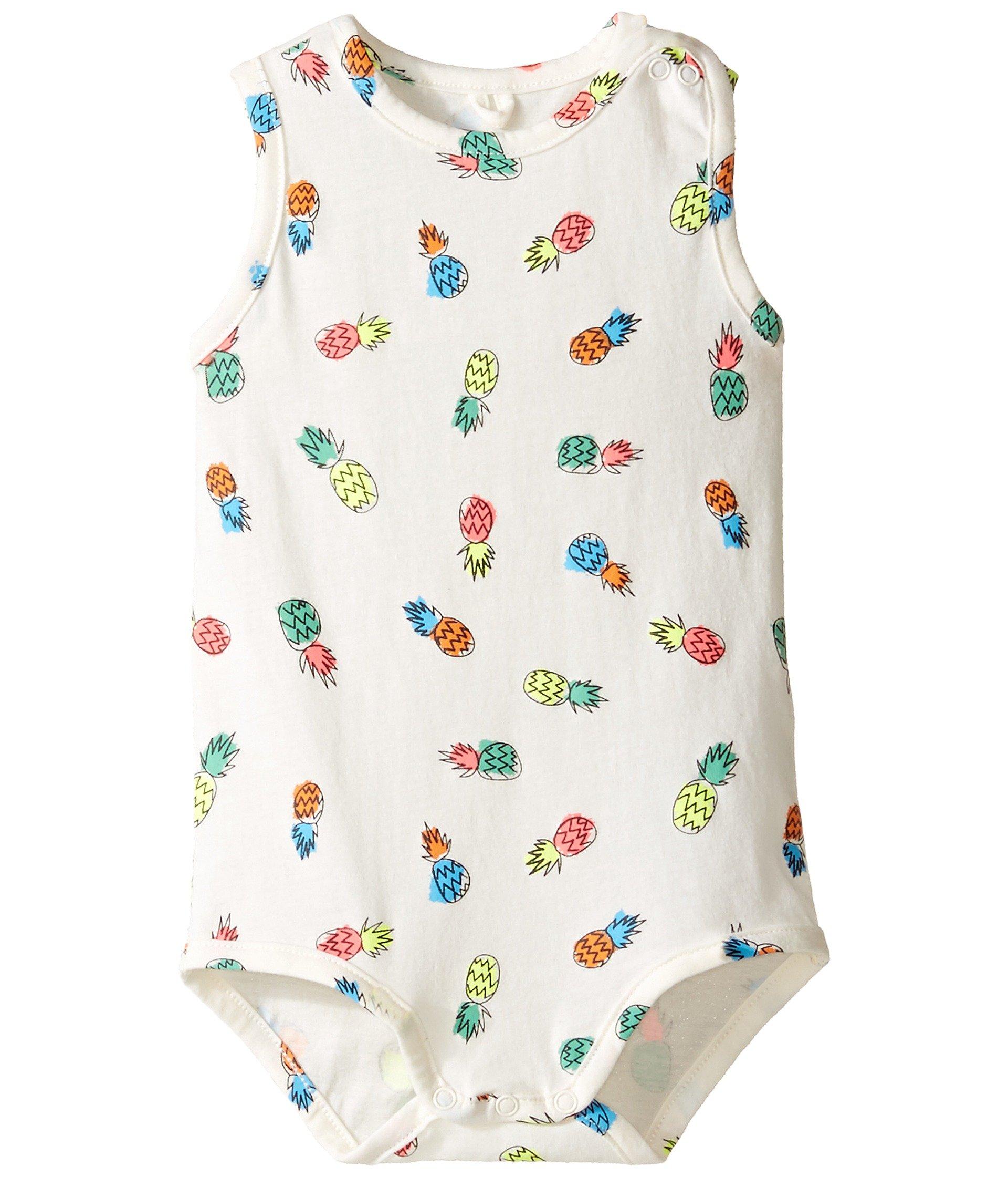 Enterizo para Bebe Stella McCartney Kids Gizmo All Over Pineapple Print Body (Infant)  + Stella McCartney en VeoyCompro.net