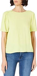 Mexx Short Sleeve Blouse Blusa para Mujer