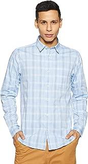 DJ&C By fbb Men's Checkered Slim Fit Casual Shirt