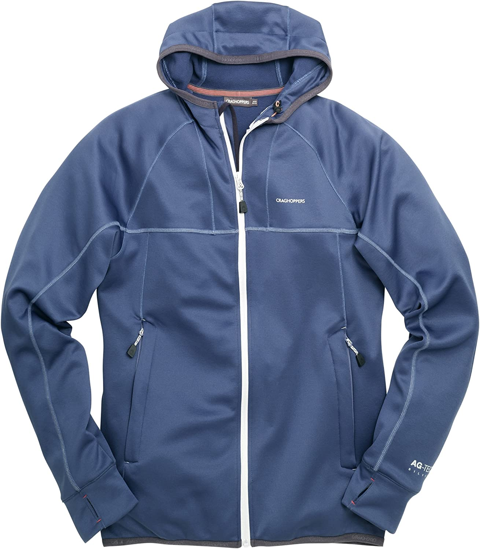Craghoppers Men's Capilla Hooded Fleece Jacket