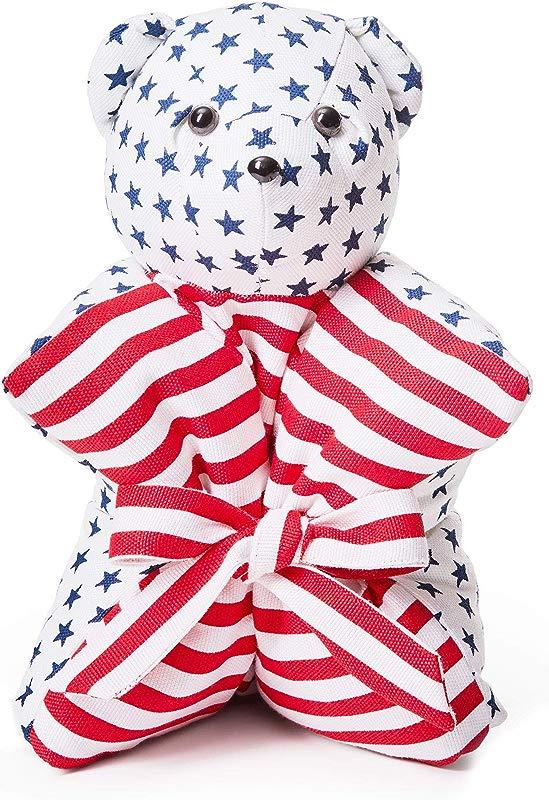 Amentity Pillow Pets Stuffed Animal Plush Toy Teddy Bear Cushion Gift For Kids In Stylish Bag