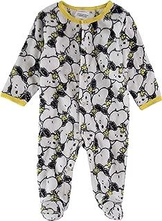 Snoopy Infant Boys Fleece Footies